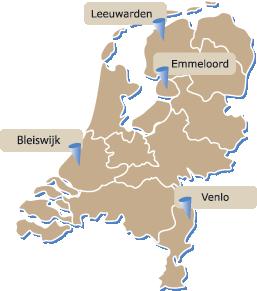 Astralift vestigingen Nederland